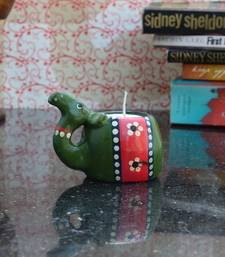 Buy Wooden Candle Stand - Camel Design candle online