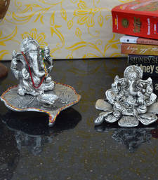 Buy Set of 2 Lord Ganesha Statues sculpture online