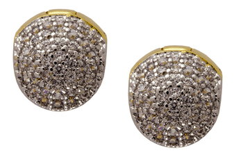 gold rhodium studs