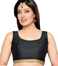 Black Color Banglory Designer Blouse Materials