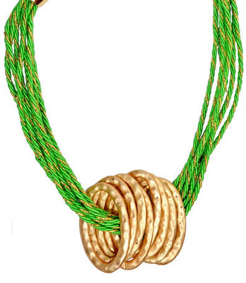 Gorgeous Green Statement Neckpiece