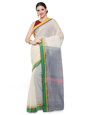 off_white printed others saree