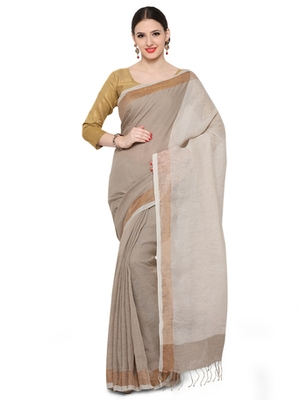 beige printed others saree