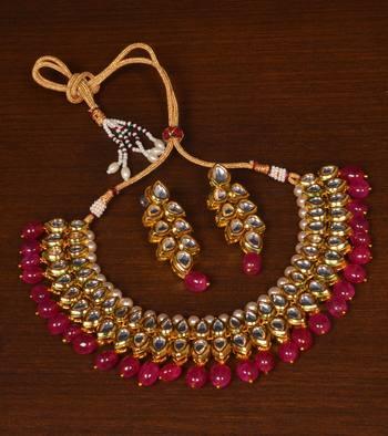 Kundan Embellished Meenakari Multi-layered Wedding Essential Choker