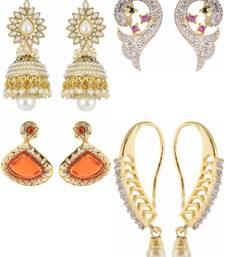 Buy Gold earrings combo-earring online