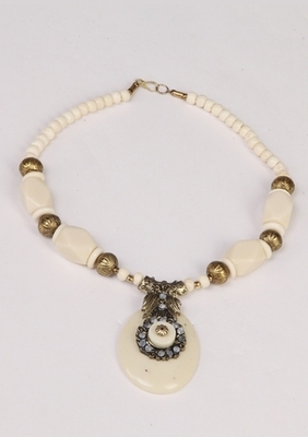 White Stylish & Designer Necklace
