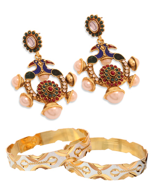 Indian wedding fashion combo jewelry