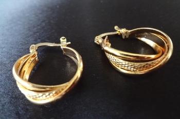Basic Small Designer layered hoops - small