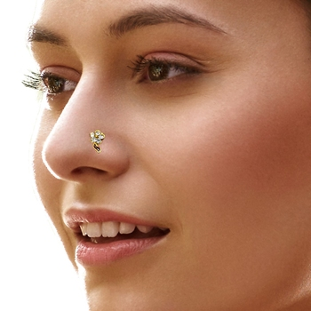 Buy Designer Diamond Nose Ring Online