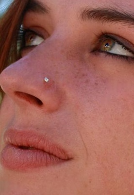 Designer Diamond  Nose Ring
