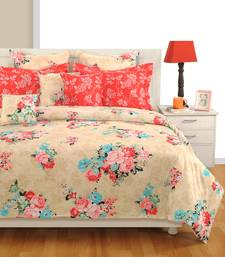 2% OFF Buy Swayam Cotton Bedsheet With Pillow Cover (Off White) Bed Sheet  Online