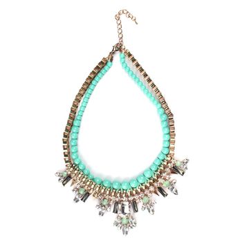 Multi color Fashion-forward Necklace