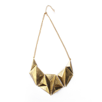 Gold Color Fashion-forward Necklace