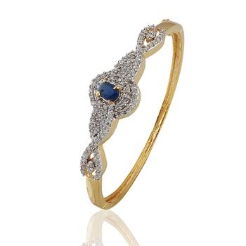 Heena Trendy Blue Stone Bracelete by Heena Jewellery @ HJBC20