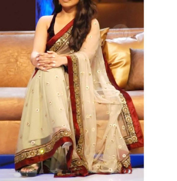 Rani Mukharji Indian Traditional Bollywood Designer Partywear saree, Fancy Saree