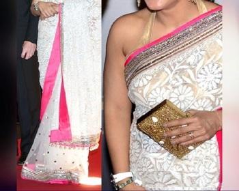 Kajol Indian Traditional Bollywood Designer Partywear saree, Fancy Saree