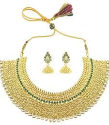 Gorgeous Choker Necklace Set For Ladies