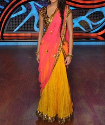 Anushka Sharma Indian Traditional Bollywood Designer Partywear Lehenga, Fancy Lehenga