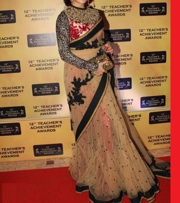 Jacqueline Indian Traditional Bollywood Designer Partywear saree, Designer Saree