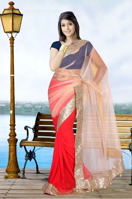 Bollywood Replica Indian Traditional Bollywood Designer Partywear saree, Designer Saree