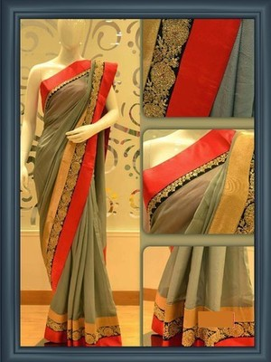 Coffee Heavy Stylish Indian Traditional Bollywood Designer Partywear saree, Designer Saree