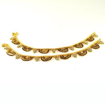 Gold platted anklet