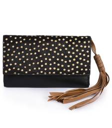 Buy Black Leather wallets wallet online