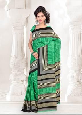 Beautiful art silk casual saree