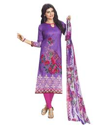 Buy Pink printed cotton salwar Woman online