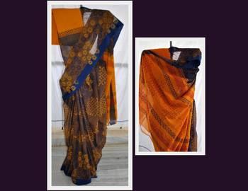 Flower Power- Handloom saree
