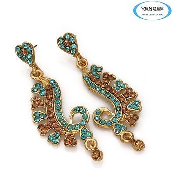 Vendee-Diamond stud earring for party wear (4248B)