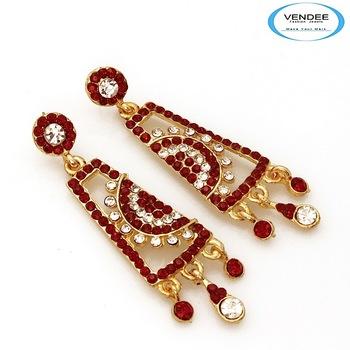 Vendee-wedding wear or party wear earring jewelry (4654A)
