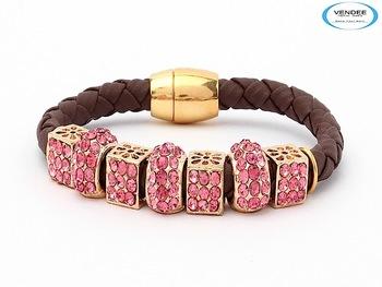 Vendee-Pretty Pink Fashion Bracelets (5713A)