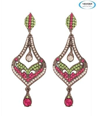 Vendee-Party wear Diamond earring (6369 A)