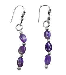 Buy Purple amethyst earrings Earring online