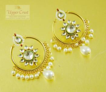 Kundan Bali Earrings