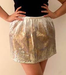 Buy Golden Shimmer Skirt skirt online