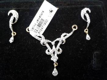 Vatika AD - CZ Mangalsutra Pendant Set with Free Chain