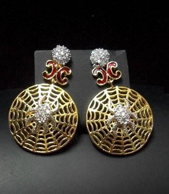 AD-CZ Dangler Earring 003