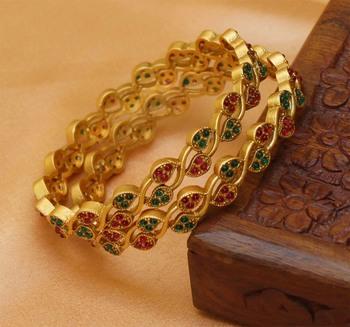 Multicolor Agate Bangles And Bracelets