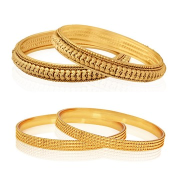 Gold zircon   bangles-and-bracelets