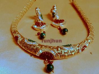 polki trendy necklace