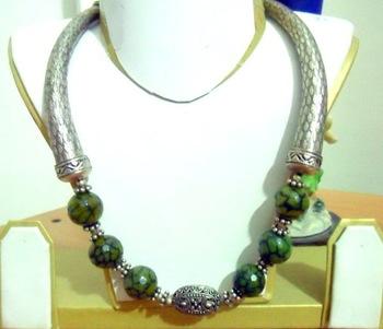 German Silver Jade Green
