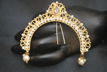 Peshwa Bajirao serial inspired juda pin - hair accessory
