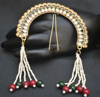 Peshwa Bajirao inspired traditional juda pin