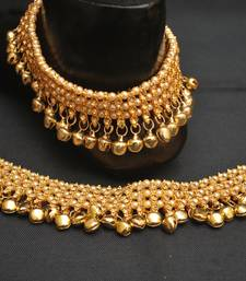 Artificial bridal anklets ghungroo payal
