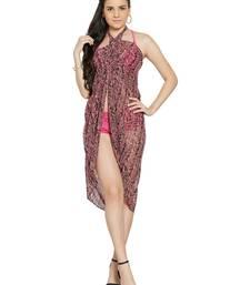 Buy Blush Coral Multi Colour Sarong swimwear online