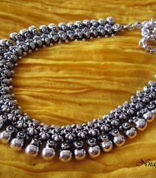 Buy Oxidized exotica  necklace Necklace online