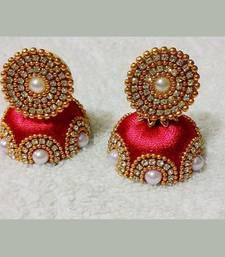 Beautiful Silk thread earring