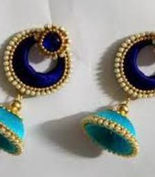 Beautiful Silk thread earring